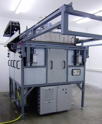 hat type furnace