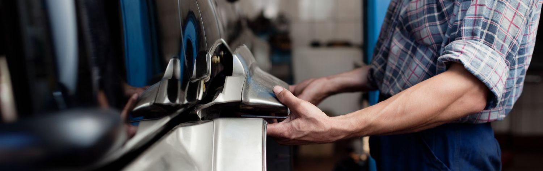 Car body repair on engine in Lawrenceburg, IN