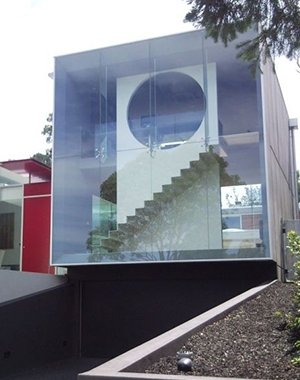 noble park glass building covered with glass