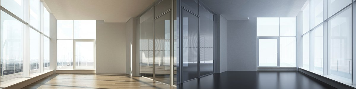 noble park glass doors with glass