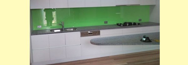 noble park glass kitchen with glazing