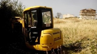 macchine movimento terra, scavi per edilizia, installazioni edili