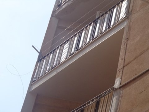 ripristino cornicioni, manutenzione cornicioni, manutenzione balconi pericolanti