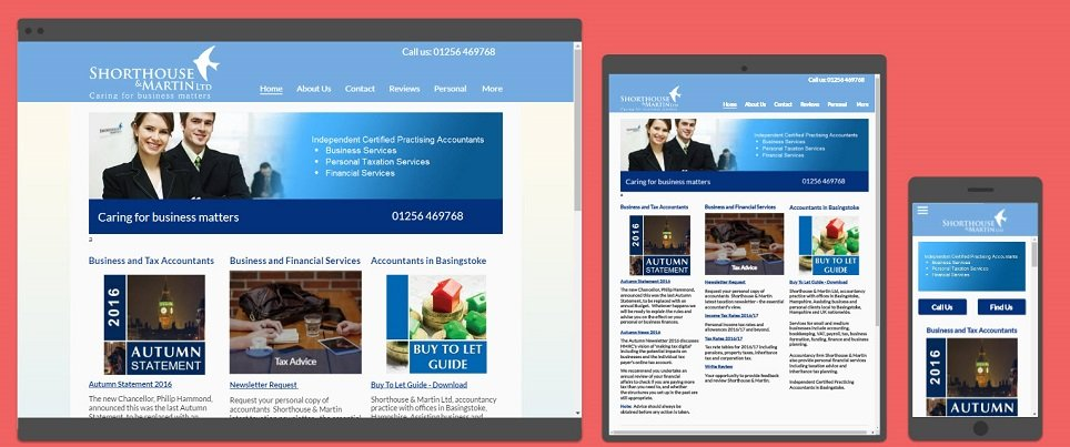 Smart mobile optimized websites for business