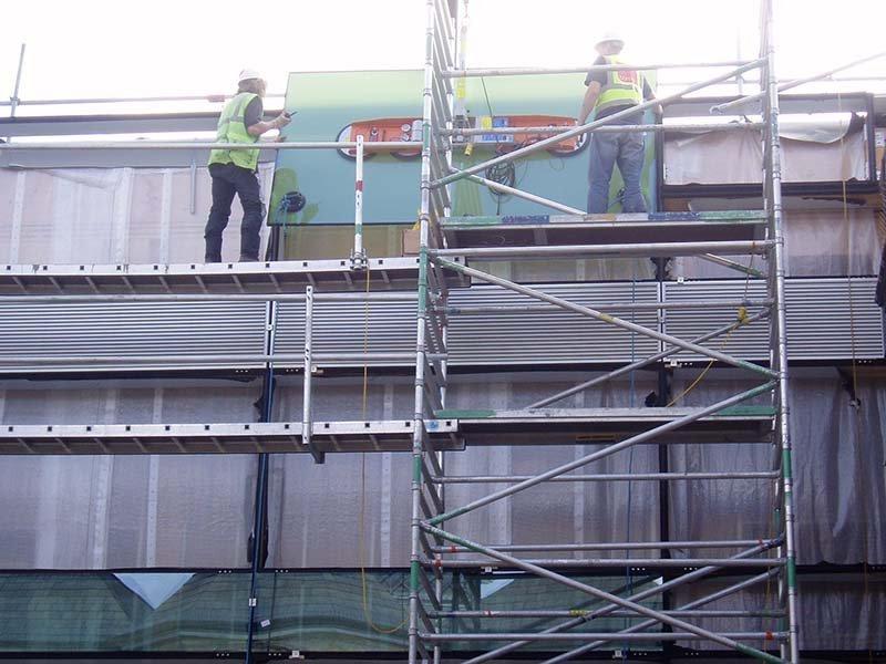 curtain wall repairs