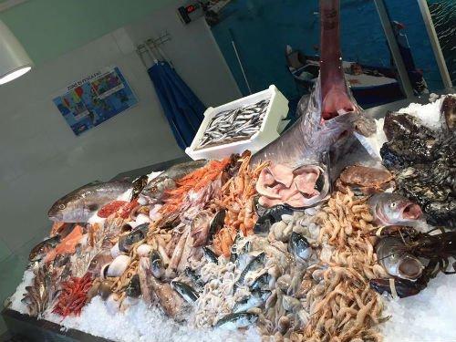 Mitili,vongole,ostriche, rasoi di mare, gamberetti,acciughe,sardine,semplice,rombo chiodato......