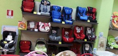 sedioline auto per bambini