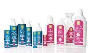 prodotti per l'igiene dei neonati