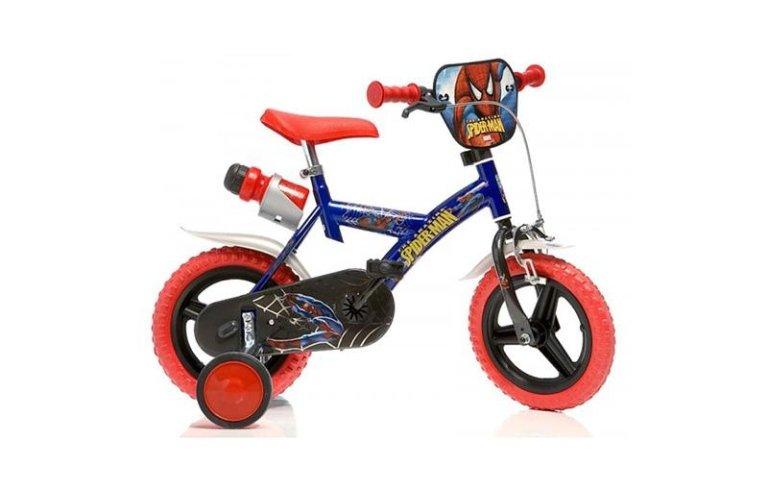 bici di spiderman