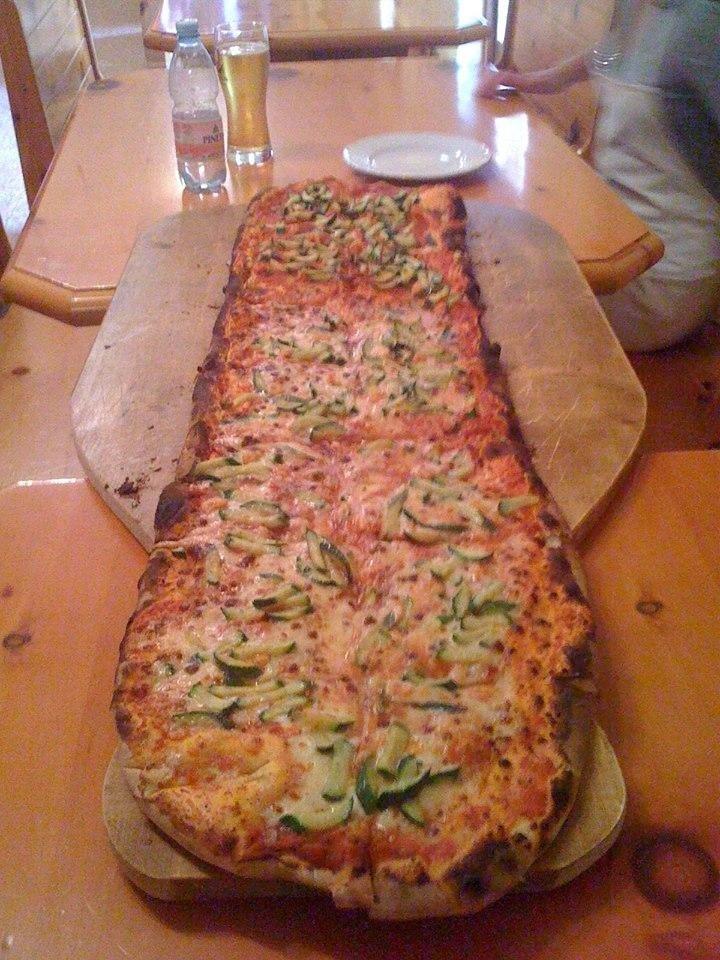 pizze al metro