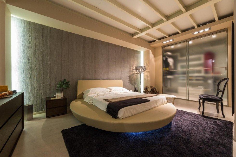 Camera da letto con illuminazione led