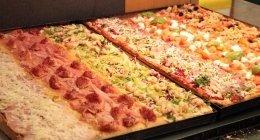 pizza al prosciutto pizza ai gamberetti pizza pomodoro fresco