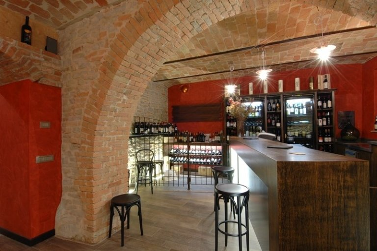 agencement Bar à vins Antica Torre