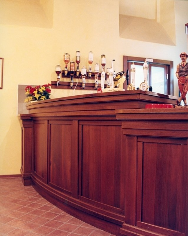 agencement bar roma