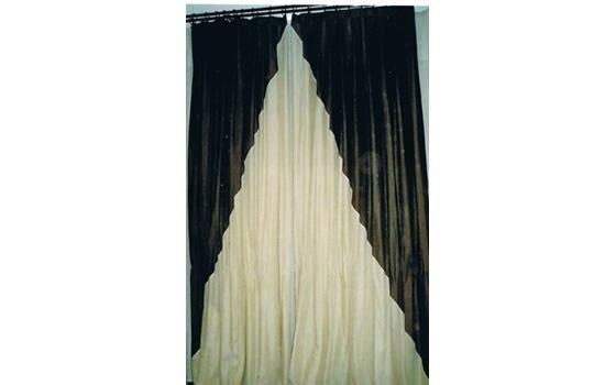 telo confezionato con tessuto misto lino