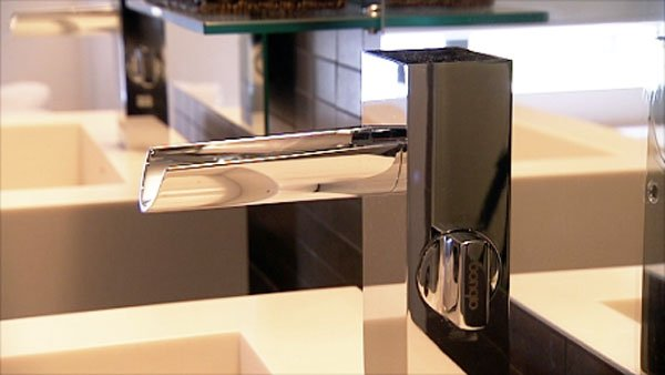 Sofitel bathroom fixture installed by advantage