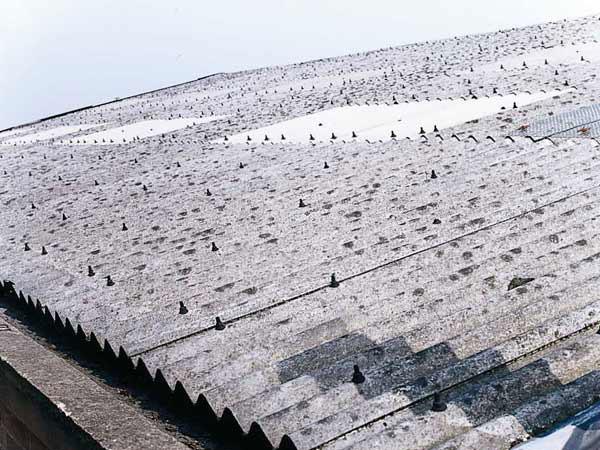 tetto in amianto