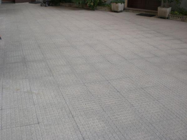 pavimento in pietra -vista laterale