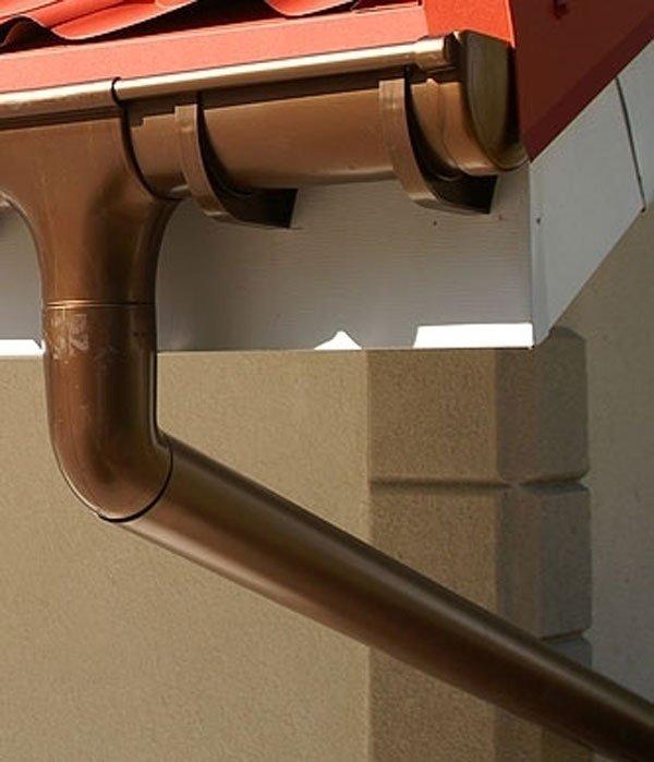 sistema di drenaggio del tetto
