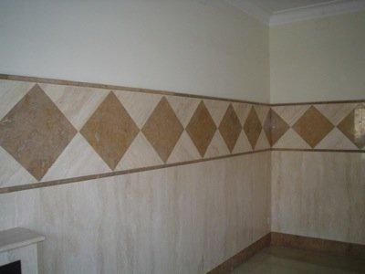 rifacimento parete in ceramica o mattonelle pregiate