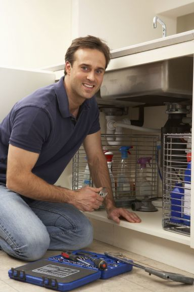 A man supplying plumbing services in Invercargill