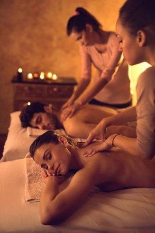 percorso SPA e massaggio di coppia