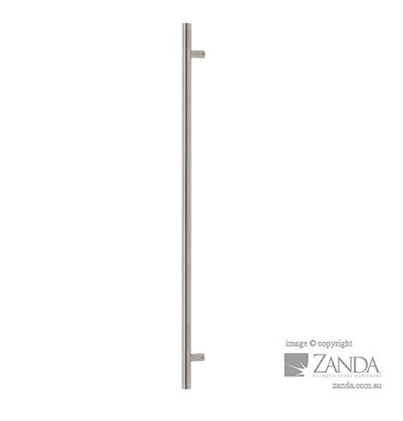 entrance pull handles round profile
