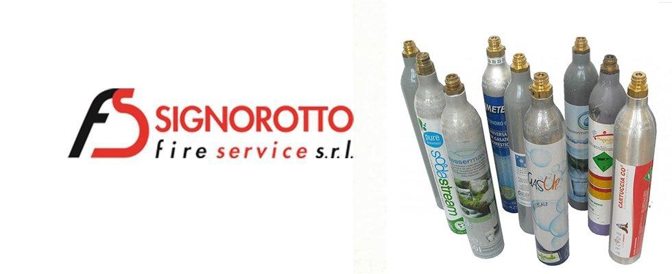Vendita bombole CO2 Alimentare Signorotto Service a Latina