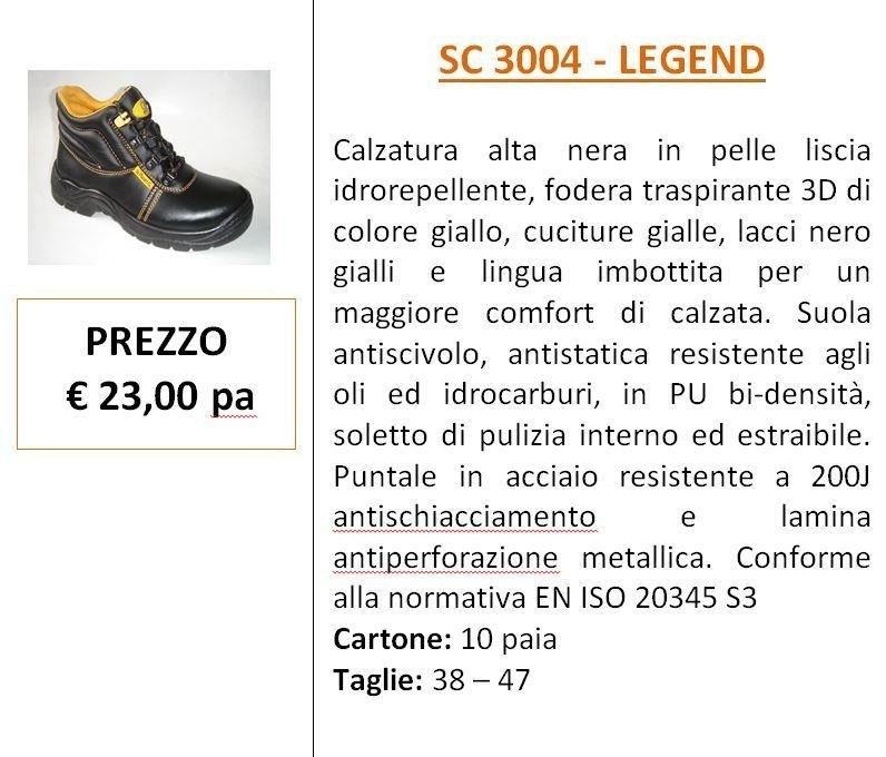 calzature legend