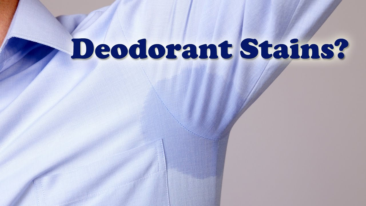 Blog for How to remove caked on deodorant from shirts