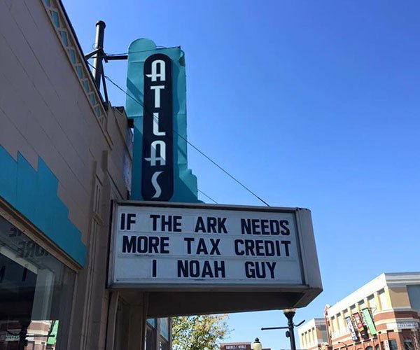 If the ark needs more tax credit i noah guy