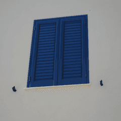 persiane blu, persiane colorate, alta quallità