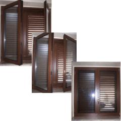 finestra a persiana, simulazione apertura persiana, casa
