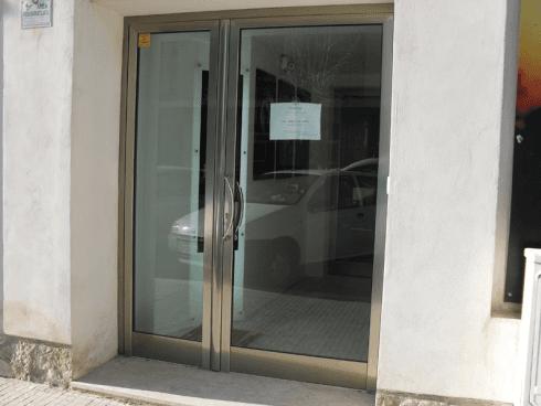 porte vetrata blindate
