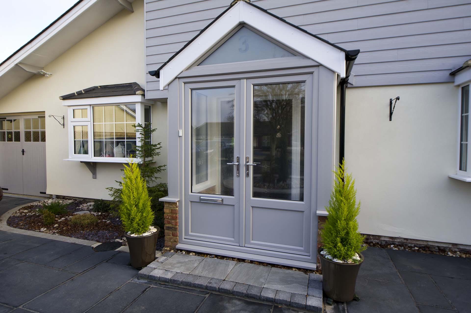 porches door front view
