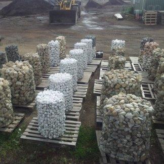 Ciottoli marmo bianco carrara