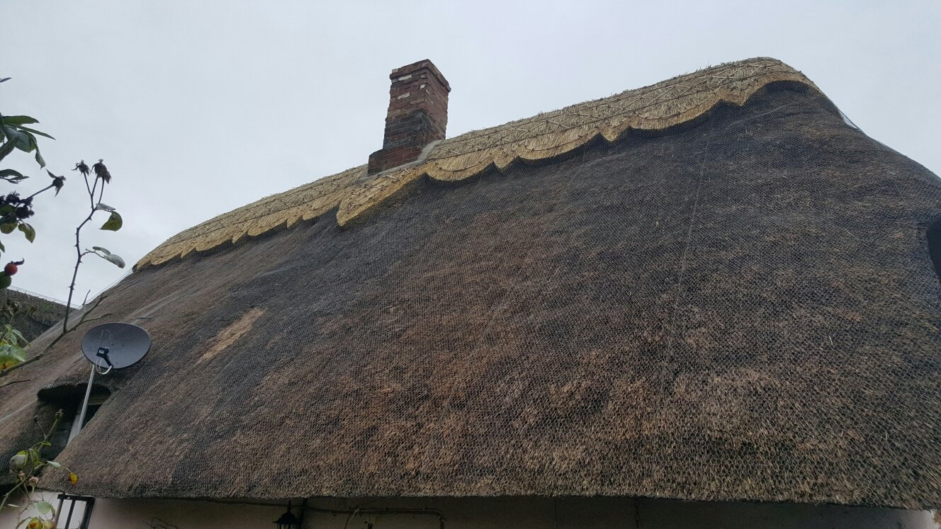 A property with a thatched roof