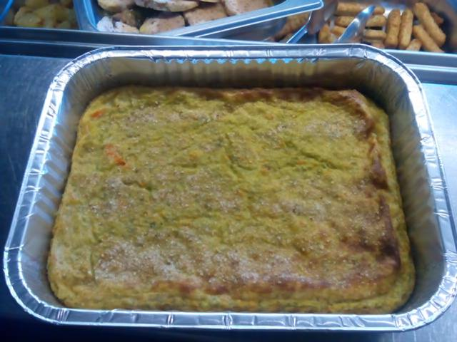 tortiera di patate e zucchine