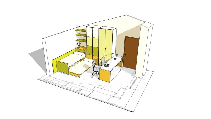 progetto arredamento interni 02