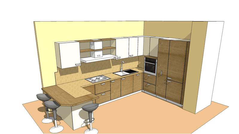 progetto arredamento interni 05