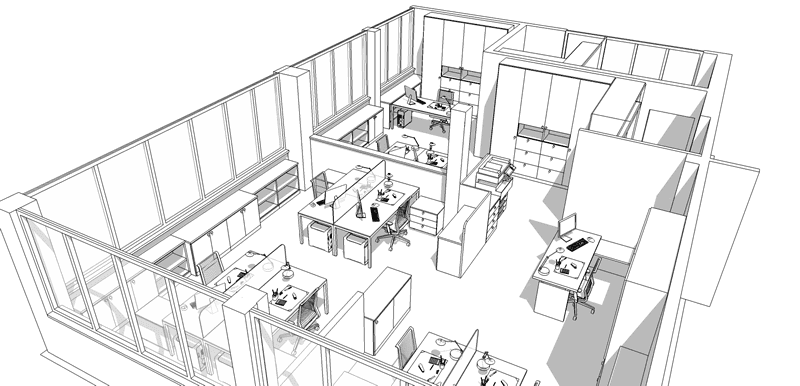 progettazione per uffici