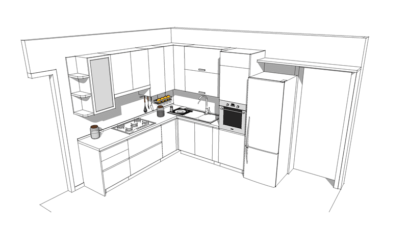 progetto arredamento interni 03