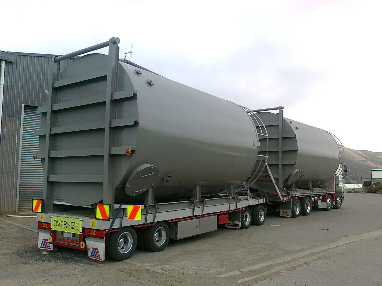 Industrial tanker