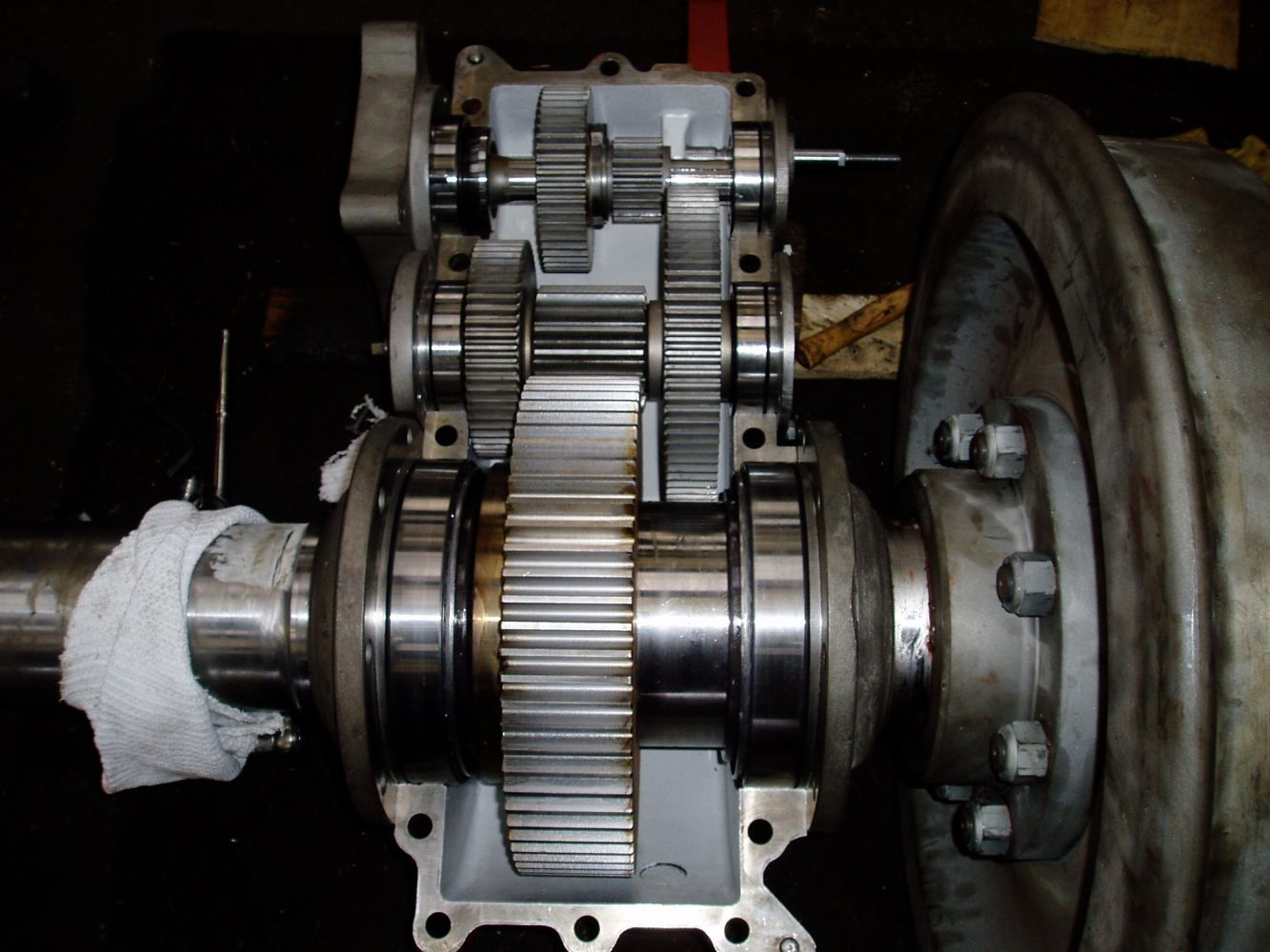 Gearbox fabrication