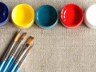 pennelli, colori