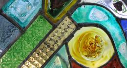 verniciatura vetri, vetri artistici, vetri lavorati a mano
