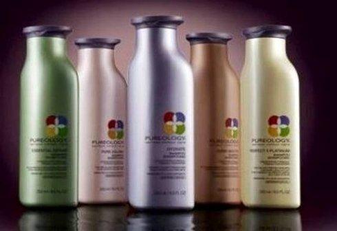 bottigliette di cosmetici Pureology