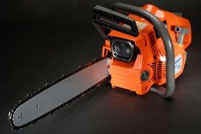 A chainsaw