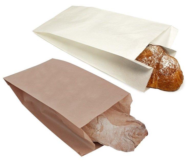 Sacchetto di carta per portare l'acquisto