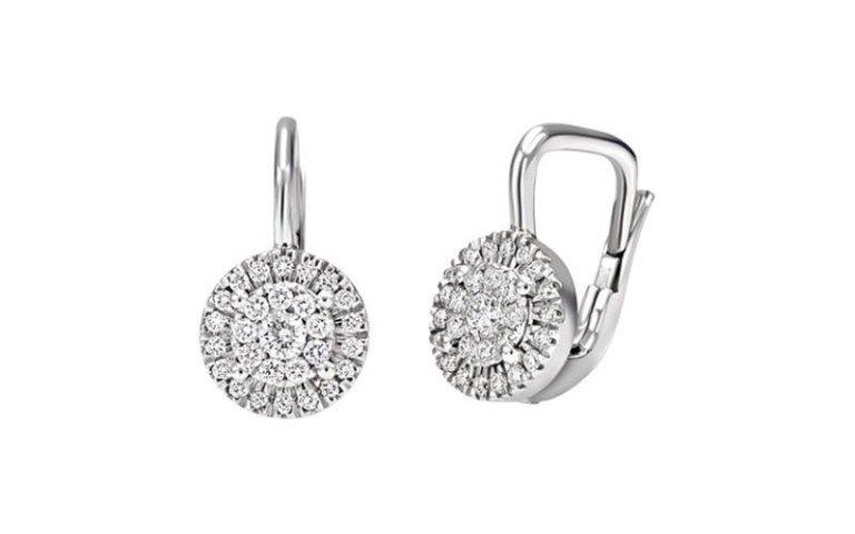 Orecchini con diamanti Diamantia